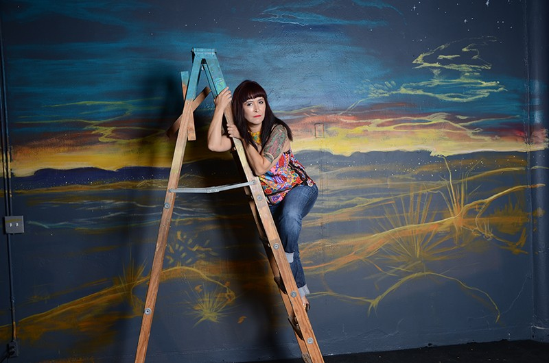 Marisela Barrera, who's working on her MFA at Our Lady of the Lake, brings a show based on her border region upbringing. - BRYAN RINDFUSS