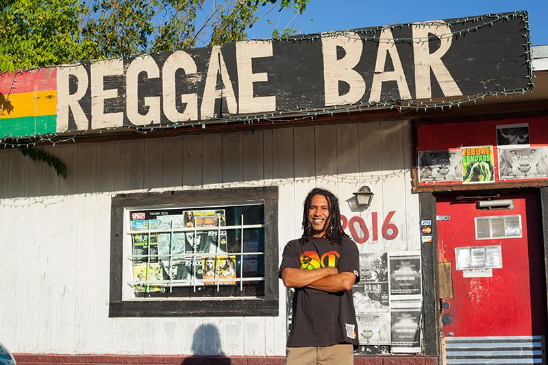 Kevin Hogan, of the aptly-named Reggae Bar on Austin Highway, has led the way in SA's fledgling revival of the genre Bob Marley made global. - LIZZY FLOWERS