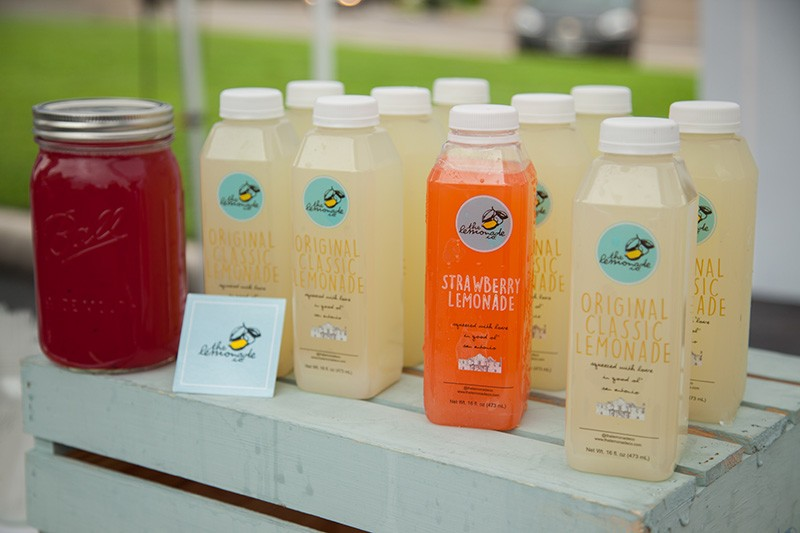 You can find natural, fresh lemonade at various markets. - LIZZY FLOWERS