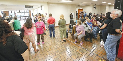 Long lines to visit inmates at the Bexar County jail could be a thing of the past. - COURTESY