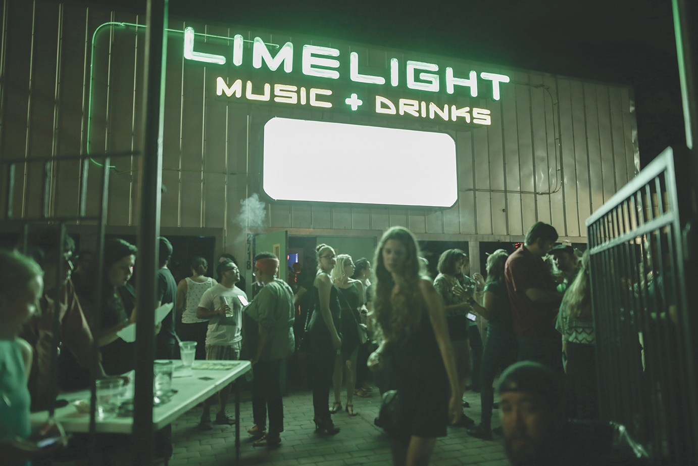 It's baaaack: The Limelight returns with all its neon glory. - COURTESY