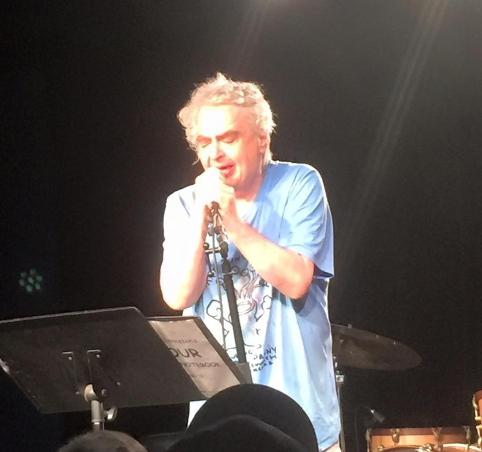 daniel johnston Peter c baker writes about daniel johnston's recent performance in chicago, with jeff tweedy, of wilco, which was billed as johnston's final tour.