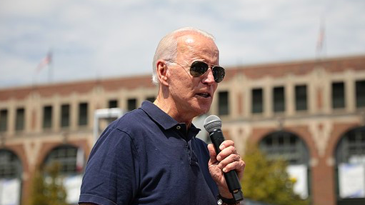 Democratic presidential candidate Joe Biden speaks during a campaign event. - WIKIMEDIA COMMONS / GAGE SKIDMORE
