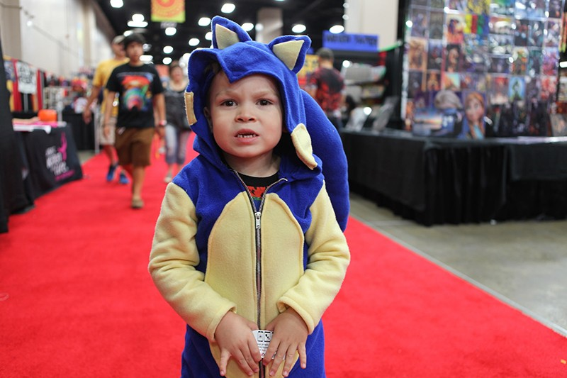 A side-effect of attending Alamo City Comic Con is a sudden urge to procreate and a compulsion to purchase many, many pop culture toddler-size onesies. - LINDA ROMERO