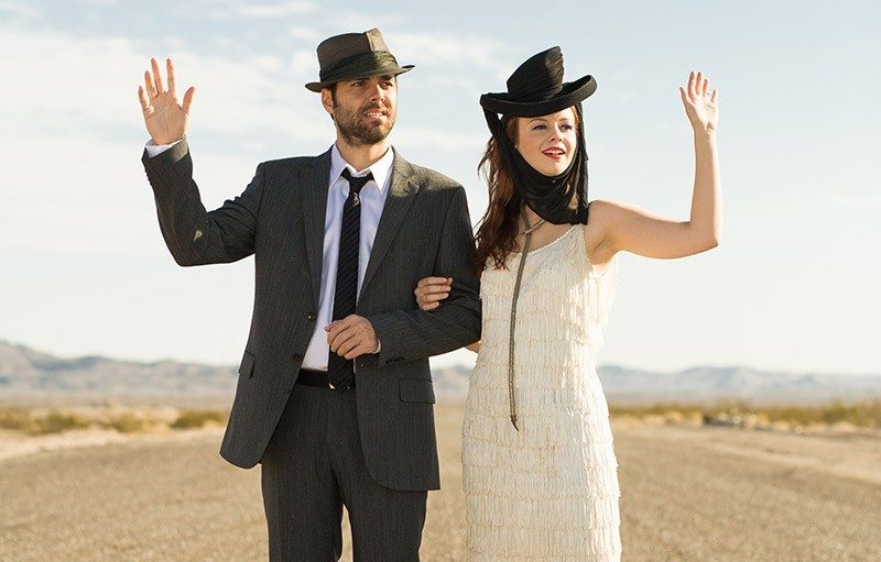 Derrick Brown and Amber Tamblyn - MATT WINGAIL