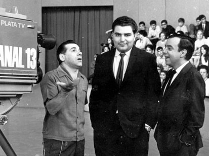 Don Francisco hosting Show Domenical in 1962.