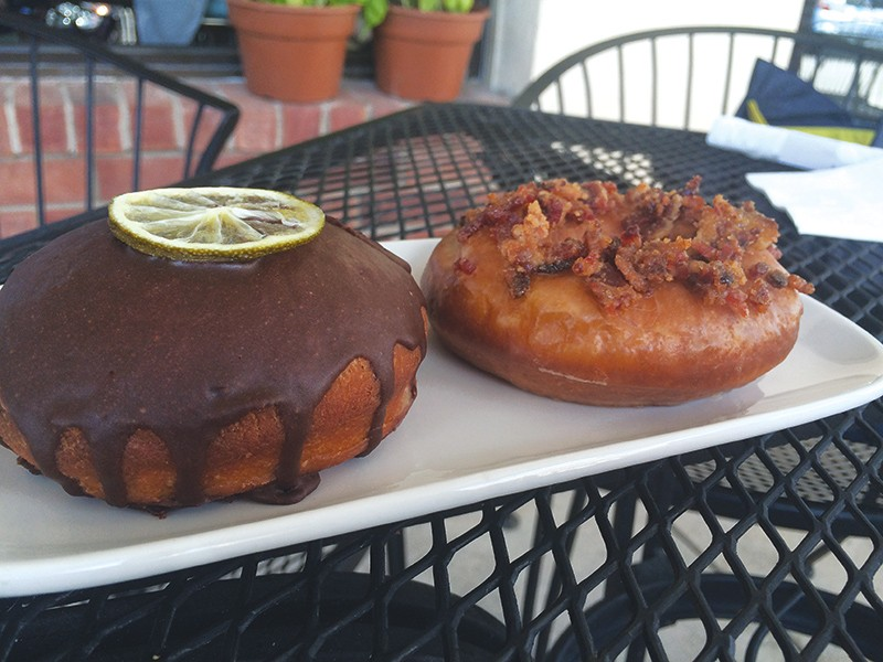 Don't miss the Mexican hot chocolate donuts. - LAUREN MADRID
