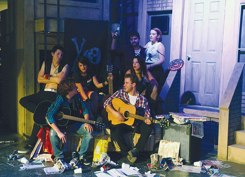 American Idiot plays at The Woodlawn from October 2-November 1.