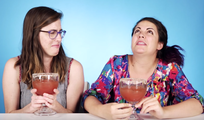 These girls act like they didn't have that bloody Mary (or seven) at Sunday brunch last weekend. - BUZZFEED
