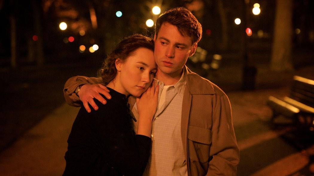 Saoirse Ronan an Domhnall Gleeson. - COURTESY