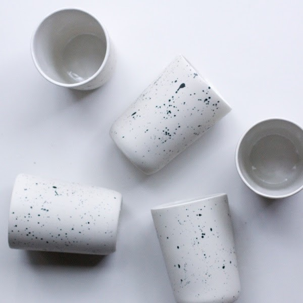 ceramic vessels, by Sarah Sauer - COURTESY