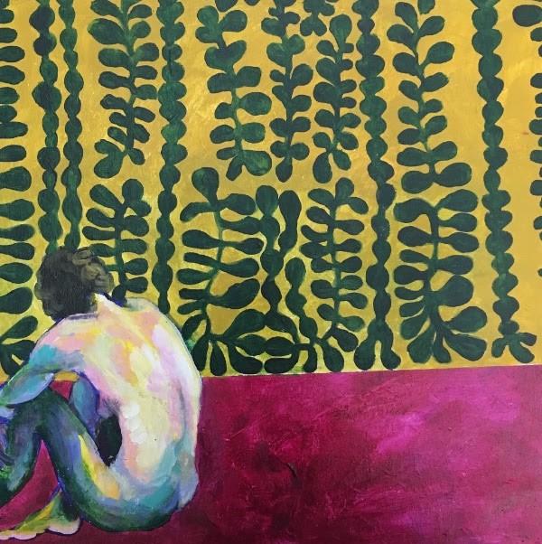 acrylic on panel, by Katy Silva - COURTESY