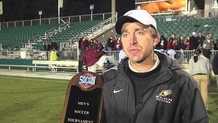 Darren Powell, pictured here as head coach of Elon University's men's soccer team, will lead the San Antonio USL team in its first season.