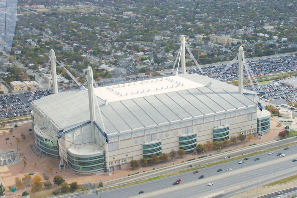 Don't expect to see the Raiders play in the Alamodome anytime soon. The team's owner wants a new stadium.