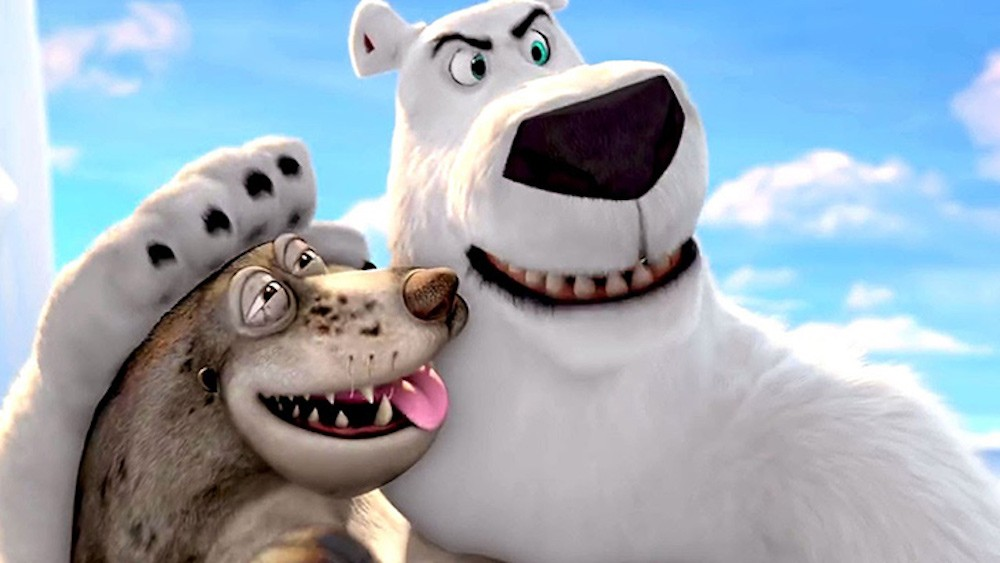 Rob Schneider voices the polar bear on a mission.