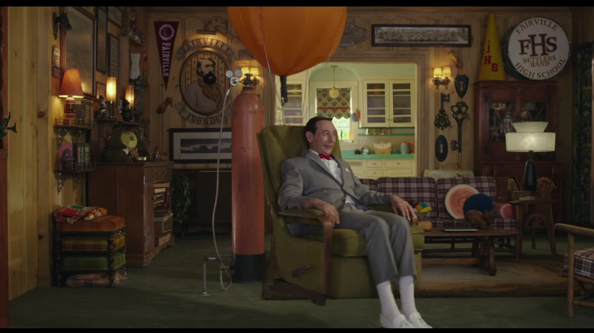 Pee-wee is coming to your living room. - YOUTUBE SCREENSHOT