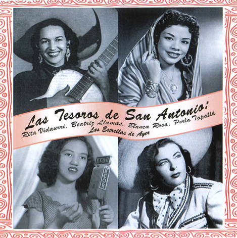 Las Tesoros album cover - ESPERANZA PEACE & JUSTICE CENTER