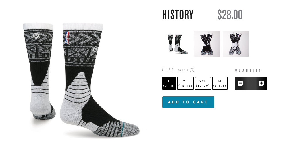 For the fashion forward. - STANCE.COM