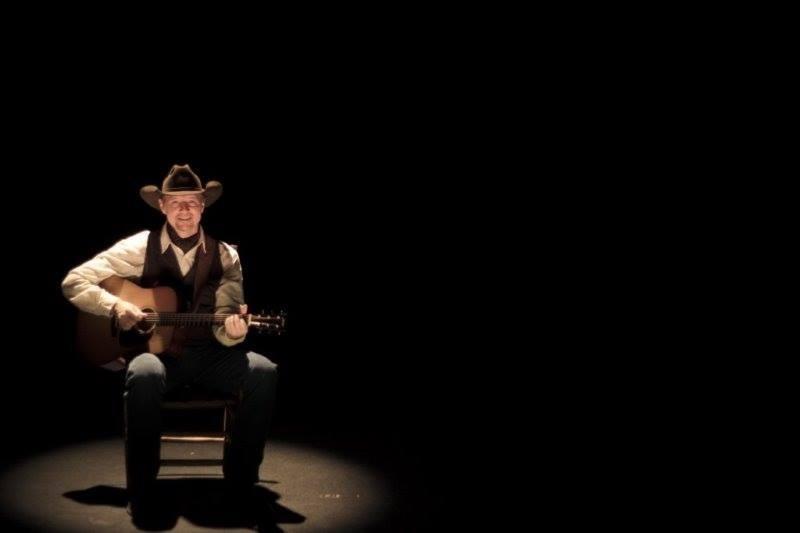 Bret Graham, one man, one chair, one guitar - VIA FACEBOOK