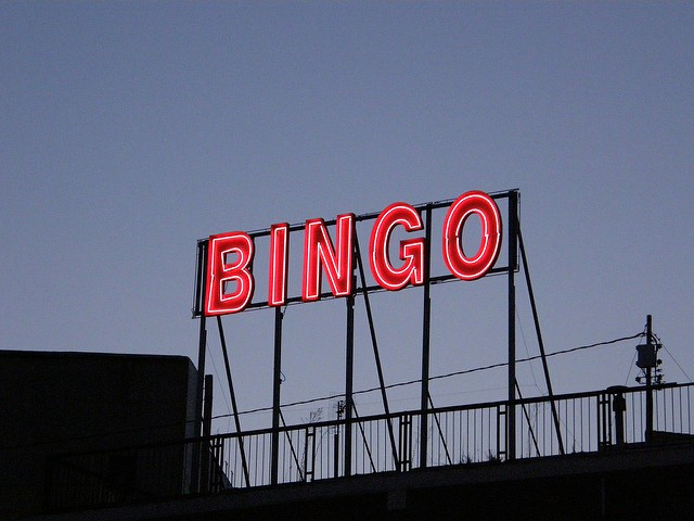 The neon glow of Bingo glory calls you. - FLICKR CREATIVE COMMONS