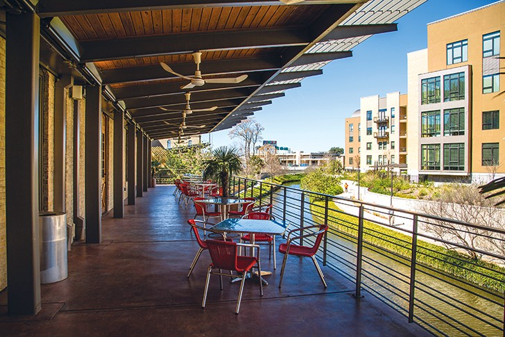 A new life for SAMA's patio - JACQUELINE FIERRO