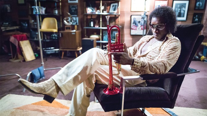 Don Cheadle as Miles Davis - PRESS PHOTO