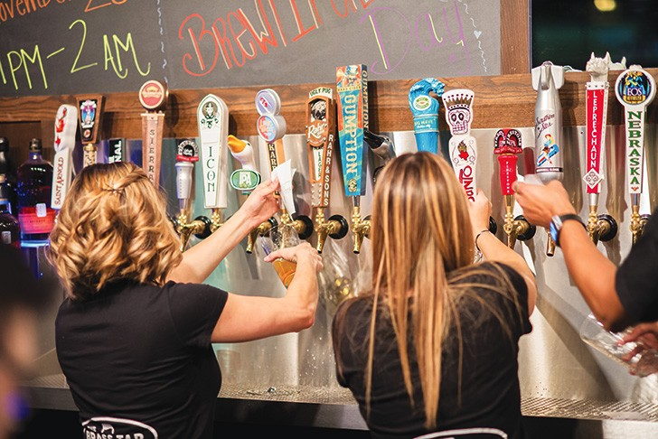 99 taps of beer on the wall …