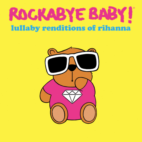 The cover of the newest release from the Rockabye Baby! series. - COURTESY