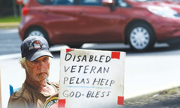The City of San Antonio submitted documents showing it had effectively ended veteran homelessness. - FLICKR CREATIVE COMMONS
