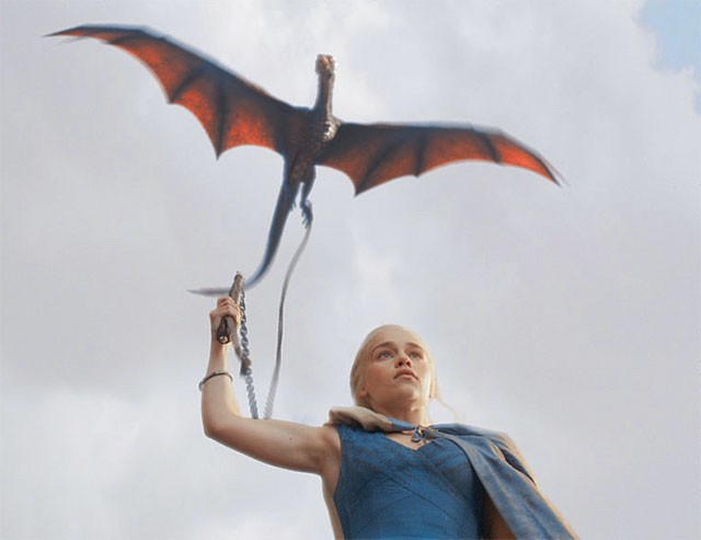 Daenerys Targaryen, the silver-haired mother of dragons. - COURTESY PHOTO