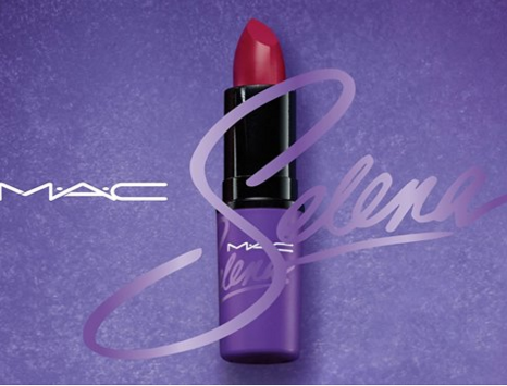 "MAC will release ""Como La Flor,"" Selena's signature red lipstick color, this fall. - PHOTO VIA FACEBOOK/CHRIS PEREZ"