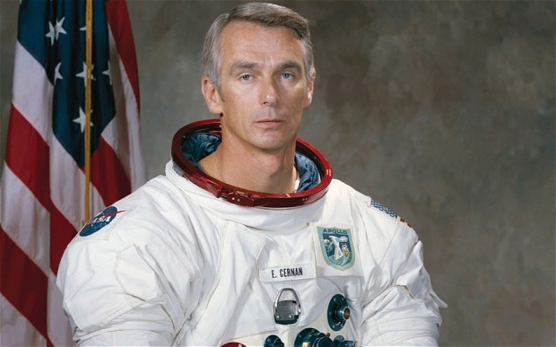 Gene Cernan's career in the NASA space program is documented in the film The Last Man on the Moon. - NASA