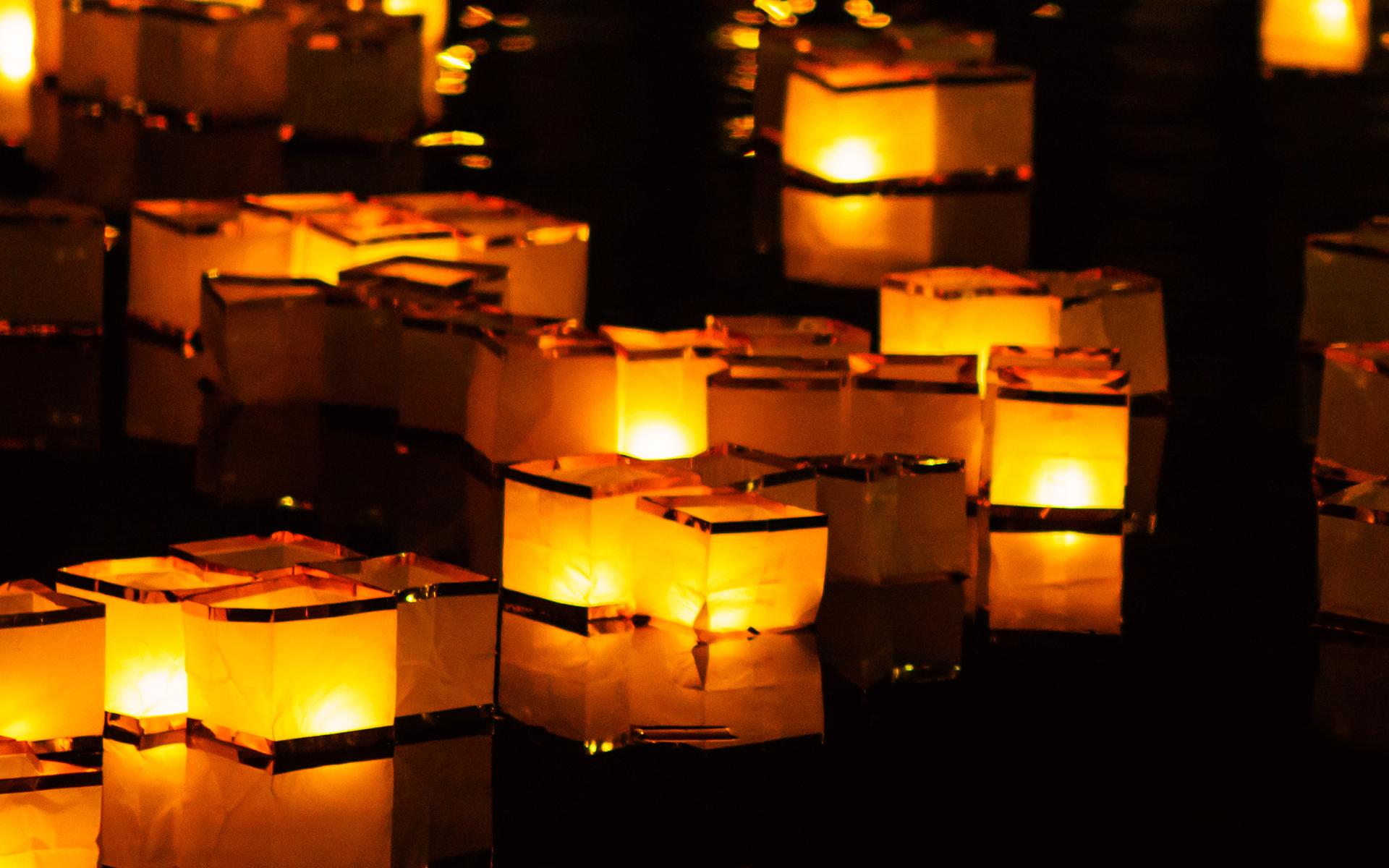 San Antonio Botanical Garden Honors Japanese Tradition With Water Lantern Release Artslut