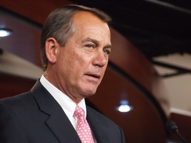 John Boehner, likely thinking he's done with this shit. - FLICKR CREATIVE COMMONS/MEDILL DC