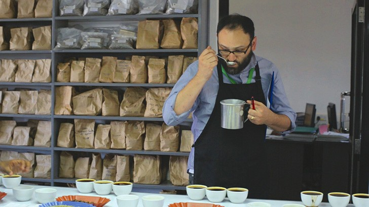 Brown Coffee Co. owner Aaron Blanco visits the Thirika Mill in Kenya to search for the finest coffee in the documentary Coffee Hunting: Kenya.