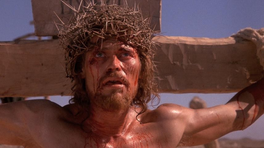 Willem Dafoe as Jesus in Martin Scorsese's  The Last Temptation of Christ. - COURTESY