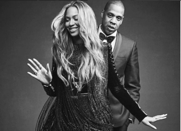 Bey and Jay slay. - INSTAGRAM