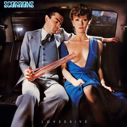 The controversial cover to the Scorpions' Lovedrive - COURTESY