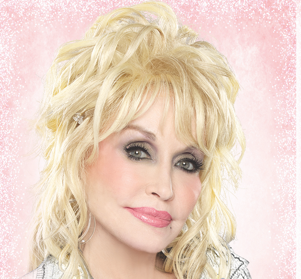 The one and only Dolly Parton. - COURTESY