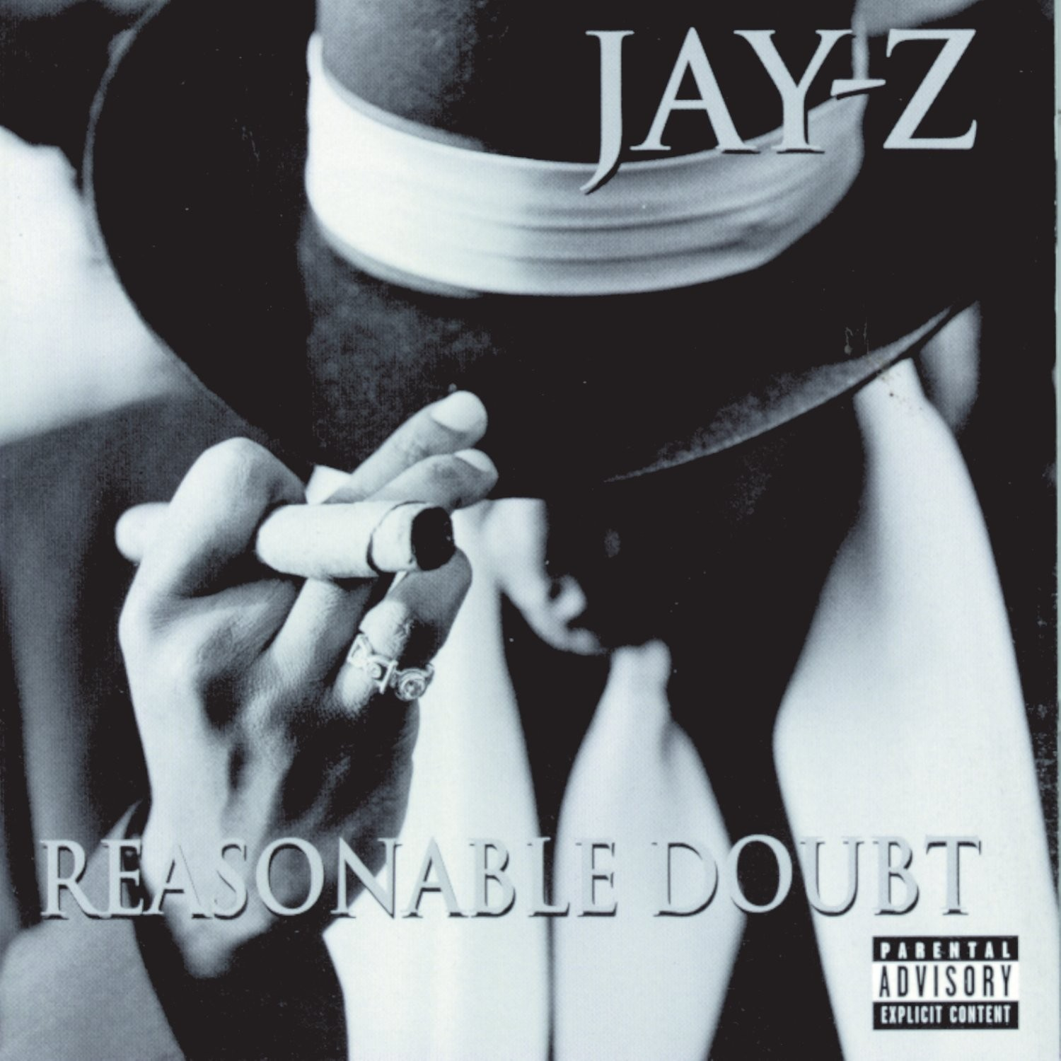 Reasonable doubt 20 years of jay z the businessman albums san the cover of jay zs 1996 debut reasonable doubt malvernweather Image collections