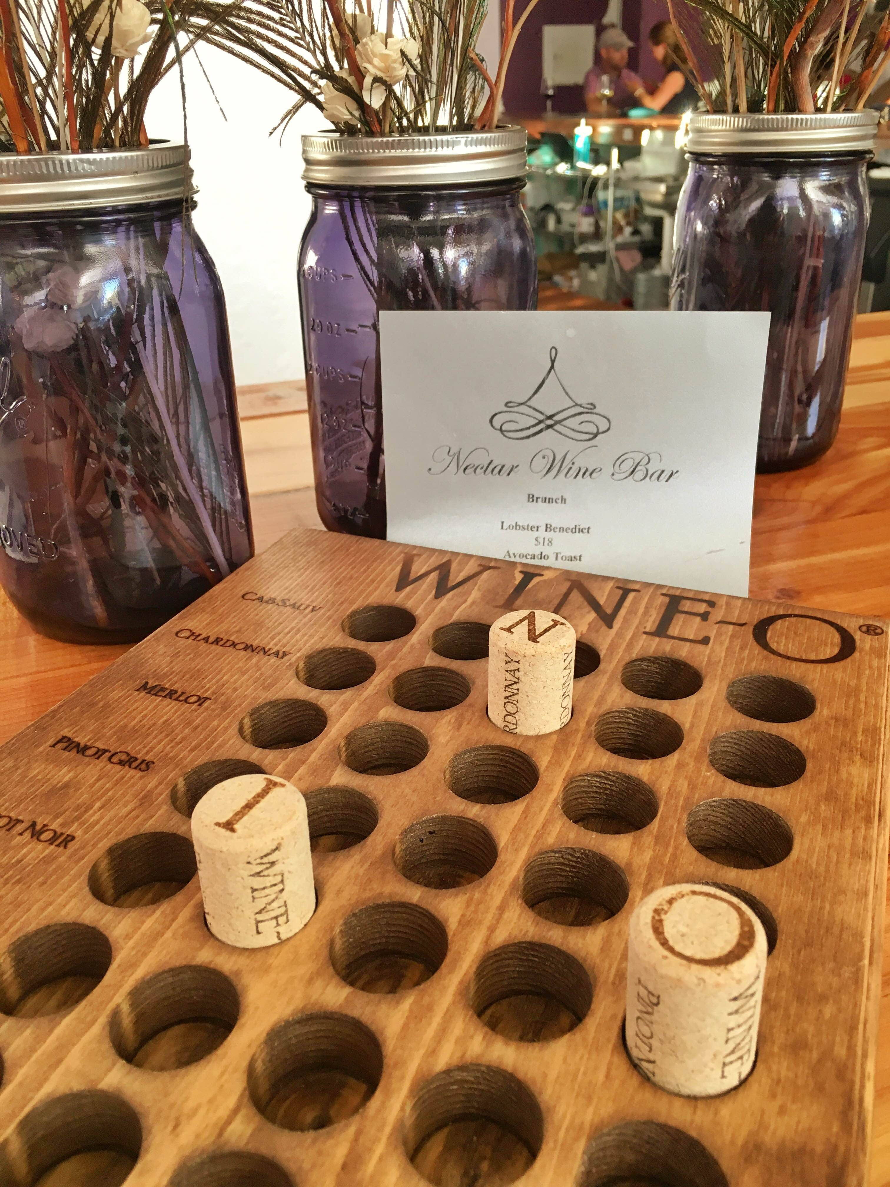 Get to Nectar Wine Bar on Tuesday for Wine-O Bingo | Flavor
