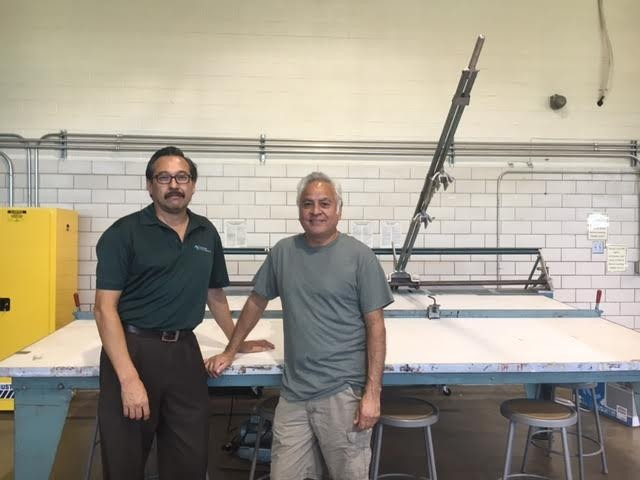 GENE GONZALEZ OF WETC AND HARVEY MIRELES