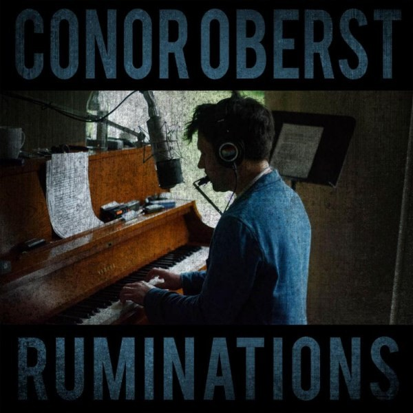 "Cover art for Conor Oberst's ""Ruminations"""