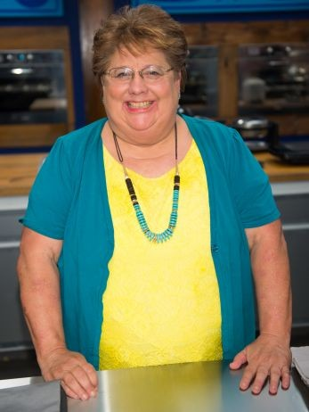 Taft High School choir director Judy Welch is a contestant on the new Food Network reality series Worst Bakers in America, which debuts Oct. 2. - FOOD NETWORK