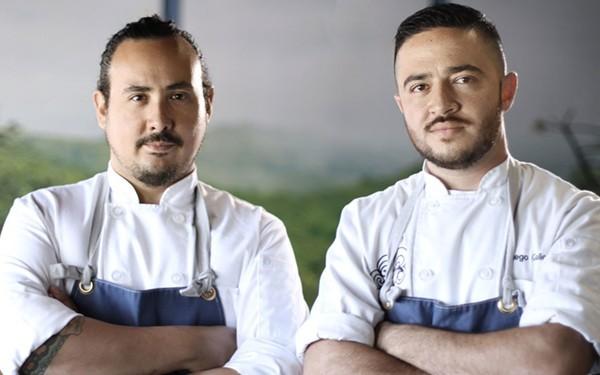 San Antonio chef Rico Torres (left) will appear on Hulu's new original series, 'Taste the Nation.' - JOSH ZAPATA AT DESIGN FILM FIRM