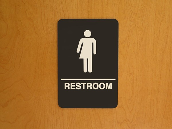 "Lt. Gov. Dan Patrick's forthcoming ""bathroom bill,"" which would target transgender Texans, could cost the state billions, according to a state business group. - SHUTTERSTOCK"