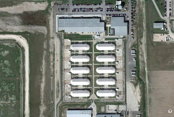 Willacy County's tent prison - GOOGLE MAPS