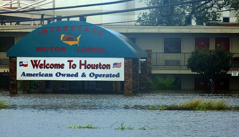 Houston, post-Hurricane Ike - WIKIMEDIA COMMONS