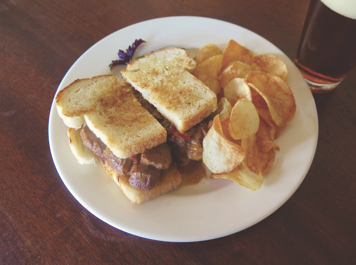 POT ROAST SANDWICH AT LIBERTY BAR, COURTESY IMAGE