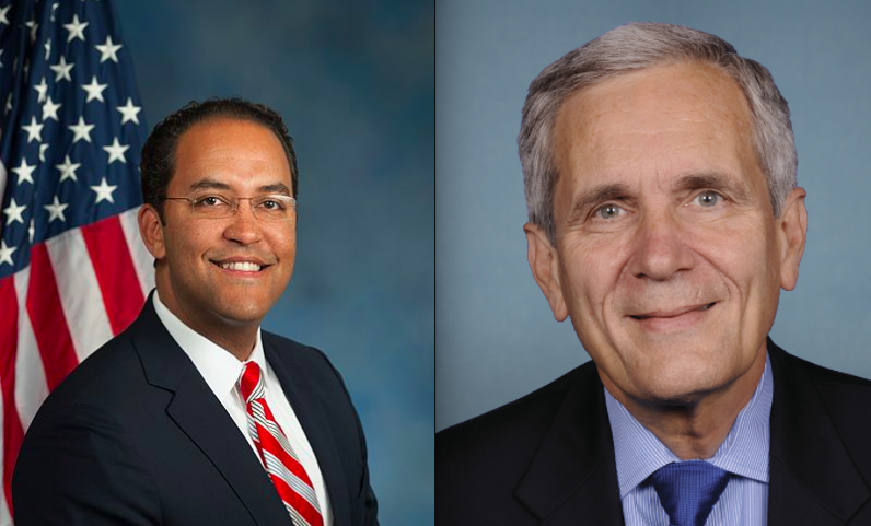 Rep. Will Hurd, District 23, and Rep. Lloyd Doggett, District 35 - WIKIMEDIA COMMONS